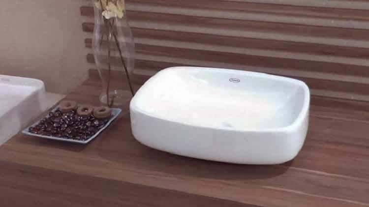 modelos de cuba de apoio para banheiro incríveis