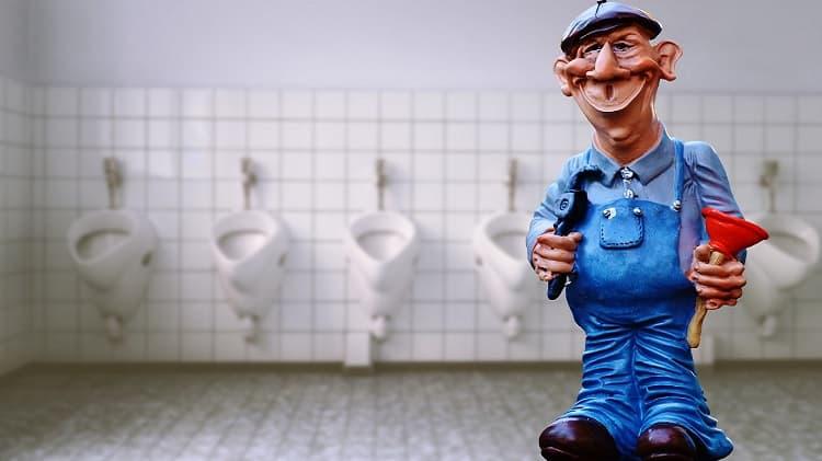 causas comuns de entupimentos no banheiro